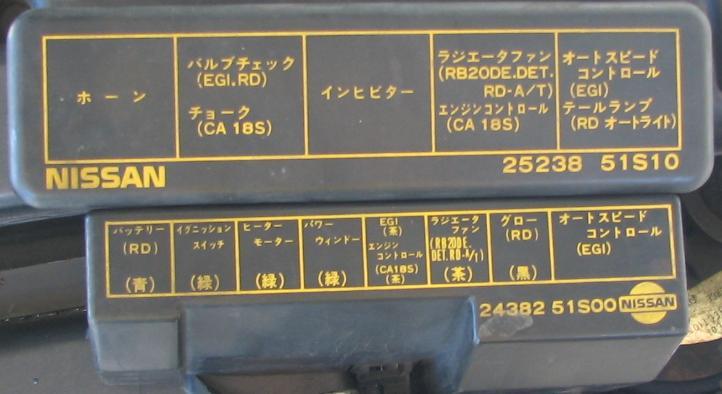 Japanese Text Translation - R31 Skyline Club Wiki on